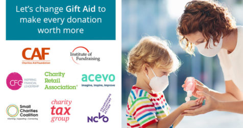 Charities call for boost to Gift Aid amid pandemic fundraising shortfall